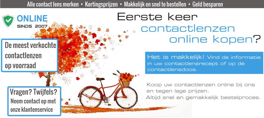Bestel uw Contactlenzen online tegen lage prijzen en bespaar tijd en geld