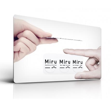 ec2688373a9d25 Miru 1 Day (30) lentilles de contact du fabricant Menicon dans la catégorie  EuEyewear