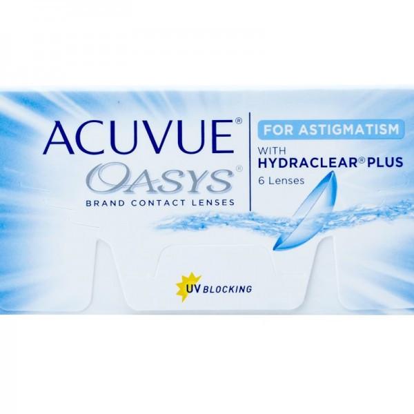 a12bca295d405 Acuvue Oasys for Astigmatism lentilles de contact du fabricant Johnson    Johnson dans la catégorie EuEyewear ...