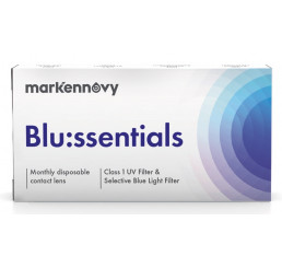 Blussentials contact lenses 3-pack