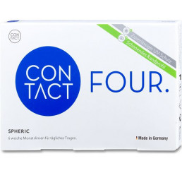 Contact Four Spheric contact lenses