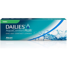 Dailies Aquacomfort Plus Toric (30) fra produsenten Alcon