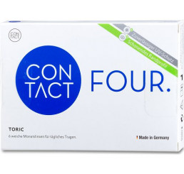 Contact Four toric contact lenses