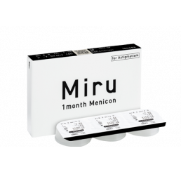 Miru 1 month for astigmatism 3-pack