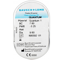 Quantum 1 hard contact lens