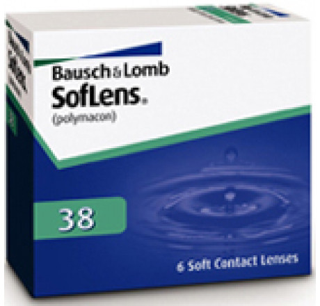 Soflens 38  contact lenses from the manufacturer Bausch & Lomb in category EuEyewear