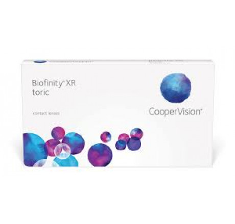 Biofinity XR Toric (6) contact lenses from the manufacturer CooperVision in category EuEyewear