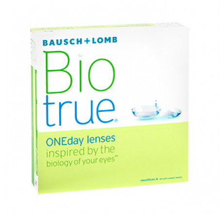 Biotrue ONEday (90) contact lenses from the manufacturer Bausch & Lomb in category EuEyewear