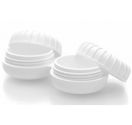 Antimicrobial contact lens case
