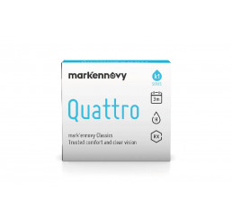 Mark'ennovy Quattro Multifocal 3-monthly contact lenses