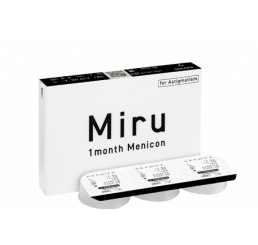 Miru 1 month for astigmatism 6-pack