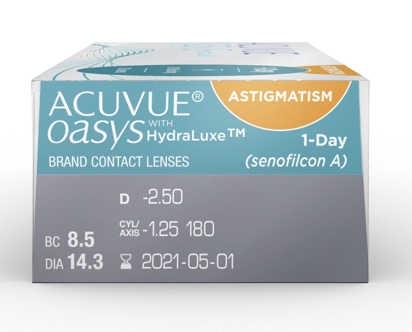 9a8a81efa5452 ... Acuvue Oasys 1-Day for Astigmatism (90) lentes de contacto do  fabricante Johnson