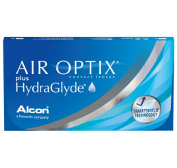 Air Optix plus HydraGlyde (3) do fabricante Alcon / Cibavision