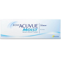 1-day Acuvue Moist 30-pack