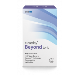 Clearday Beyond Toric 3-pack