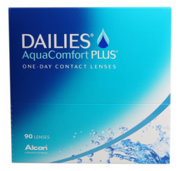 Dailies AquaComfort Plus (90) fra producenten Alcon