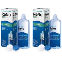 ReNu MultiPlus 2 x 360 ml. fra producenten Bausch+Lomb
