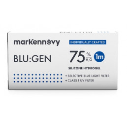 Blu:gen contact lenses 3-pack